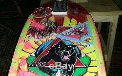 Panther Skateboard Santa Monica Airlines, slime ball wheels, gullwing pro 3 trucks
