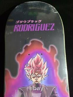 Paul Rodriguez SSR Goku Black Dragon Ball Z Primitive Skateboard 8.00 P Rod Deck
