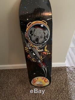 Pearl Jam Strangelove Skateboard Deck 8.5x32 StrangeLove SILVER Edition In Hand