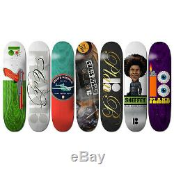 Plan B Skateboard Deck Bulk Lot 7 Pack of Decks Staff Picks Pack