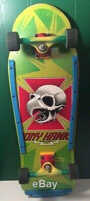 Powell Peralta 1983 Tony Hawk Chicken Skull Skateboard Bones Streetstyle 1980s