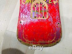 Powell Peralta 80s Mike McGill Vintage Skateboard OG Pink Bones Original