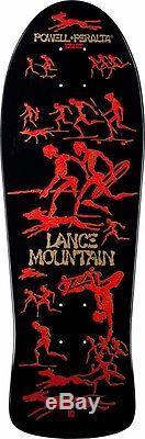 Powell Peralta BONES BRIGADE Lance Mountain FUTURE PRIMITIVE Deck BLACK
