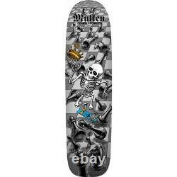 Powell Peralta BONES BRIGADE Rodney Mullen CHESS Skateboard Deck SILVER