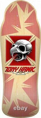 Powell Peralta BONES BRIGADE Tony Hawk CHICKEN SKULL Skateboard NATURAL