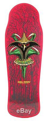 Powell Peralta BONES BRIGADE Tony Hawk CLAW Skateboard Deck PINK