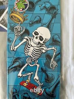 Powell Peralta Bones Brigade Rodney Mullen Blue Chess Deck 2012 (new)