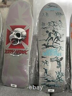 Powell Peralta Bones Brigade Series 12 Skateboard Deck Complete Set Hawk McGill