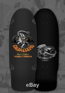 Powell Peralta Bones Brigade Steve Caballero Skateboard Deck Black Series 4