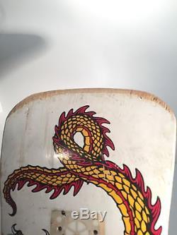 Powell Peralta Cabalerro Original Dragon Vintage Deck No Reserve