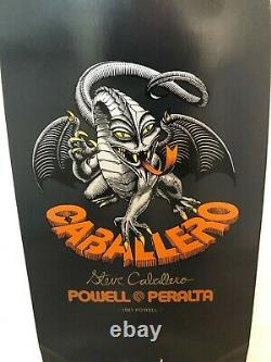 Powell Peralta Caballero Bones Brigade Series 4 Skateboard Deck New Hawk McGill