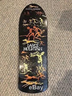Powell Peralta Lance Mountain Bones Brigade L 4th Reissue Metallic Black No Resv