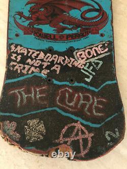 Powell Peralta Lance Mountain Future Primitive LMFP Boneite OG Blue Griptape Art