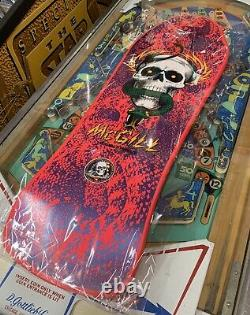 Powell Peralta Mcgill Skateboard Bones Brigade 2017 Reissue Pink Series 9 Deck