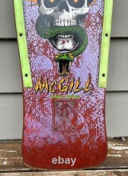 Powell Peralta Mike McGill Skull And Snake Vintage Skateboard Deck