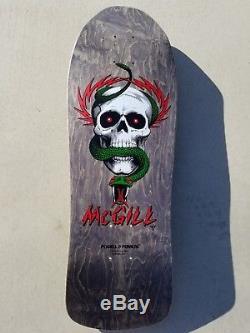 Powell Peralta Mike McGill Skull & Snake NOS rare vintage OG skateboard deck 90