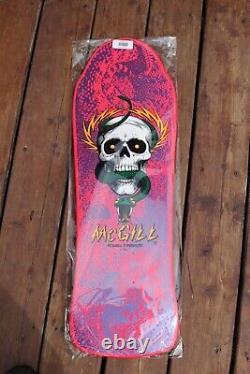 Powell Peralta Mike McGill pink reissue Skateboard Deck Santa Cruz Bones