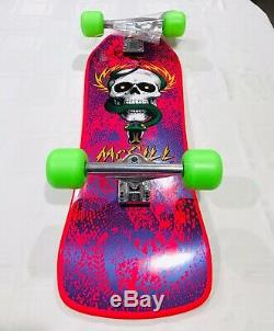 Powell Peralta Mike Mcgill New Pink Skateboard Complete Series 9 Bones Brigade