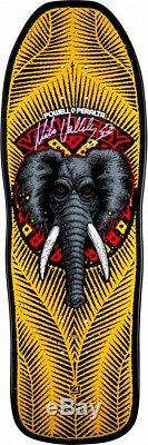 Powell Peralta Mike Vallely ELEPHANT AUTOGRAPHED Skateboard Deck YELLOW