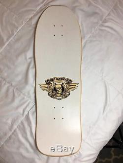 Powell Peralta Mike Vallely Elephant 2006 White Skateboard Deck VHTF Reissue