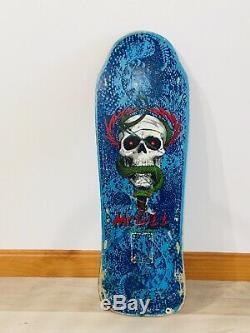 Powell Peralta OG Mike McGill XT Vintage 80s Skateboard Deck. NOT Reissue