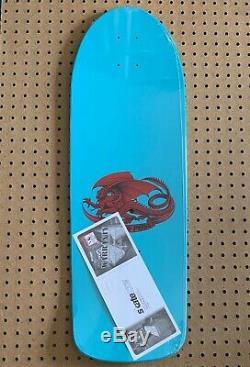 Powell Peralta OG Rat Bones Re-Issue Skateboard Deck blue Vato Rat
