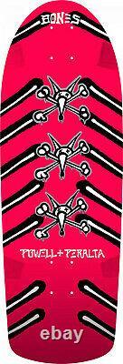 Powell Peralta OG Rat Bones Skateboard Deck Pink 10 x 30 Re-Issue