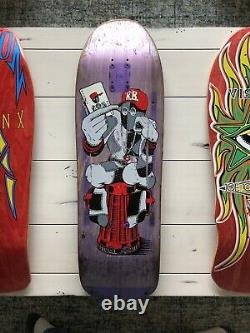 Powell Peralta Ray Barbee Hydrant Ragdoll 1990 OG Skateboard deck