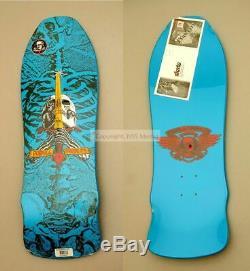 Powell Peralta Ray Bones Rodriguez geegah skull and sword skateboard deck Scuff