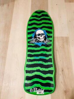 Powell Peralta Ripper Lime Green Gee-Gah 80s Skateboard Bones Sold Out! Bones
