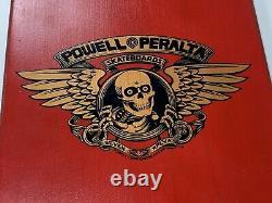 Powell Peralta Rodney Mullen Og Chess Skateboard Deck 1987 Vintage