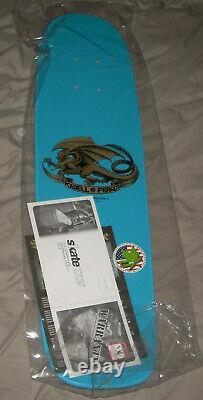 Powell Peralta Rodney Mullen Series 1 Bones Brigade Blue Reissue Skateboard Deck