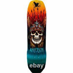 Powell Peralta Skateboard Deck Pro Flight 289 Andy Anderson 8.45