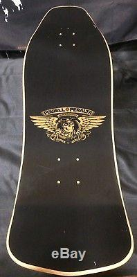 Powell Peralta Skateboard Deck Ray Underhill Cross-Chain 2007 Black Dip Re-Issue