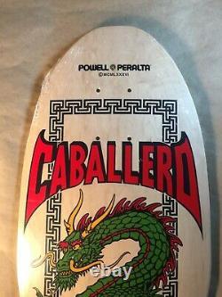 Powell Peralta Steve Caballero Chinese Dragon Reissue Skateboard Deck Old School