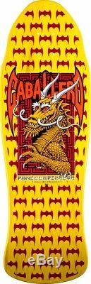 Powell Peralta Steve Caballero DRAGON AND BATS Deck YELLOW Out Of Print 2016