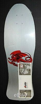 Powell Peralta Steve Caballero Silver Chinese Dragon Reissue Skateboard Deck