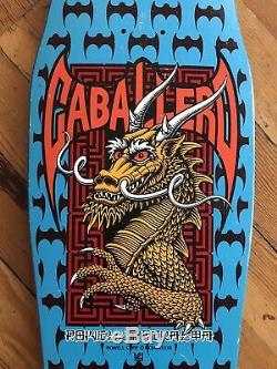 Powell Peralta Steve Caballero Skateboard Deck XT 1980s OG