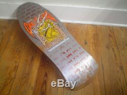 Powell Peralta Steve Caballero Vintage Skateboard Deck old school Bones Brigade