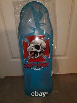 Powell Peralta Tony Hawk 9th Series 9 Skateboard Reissue Deck Blue