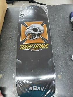 Powell Peralta Tony Hawk Bones Brigade Series 4 Skateboard Deck Black Reissue
