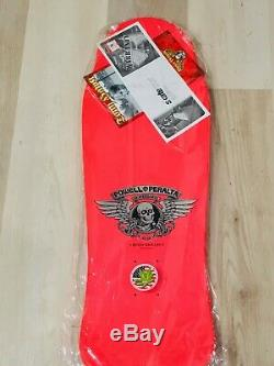Powell Peralta Tony Hawk Bones Brigade Series 6 Pink NOS Limited Skateboard Deck