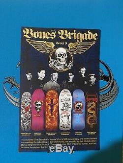 Powell Peralta Tony Hawk Bones Brigade Skateboard Deck 1721/2000
