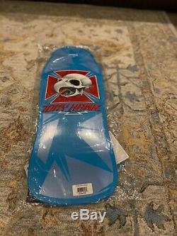 Powell Peralta Tony Hawk Chicken Skull Skateboard Deck Reissue Blue Vcj Rare