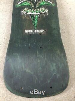 Powell Peralta Tony Hawk Original Vintage Bird Claw Skateboard Deck