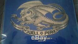 Powell Peralta Tony Hawk Reissue Skateboard Deck New 2012 Blue