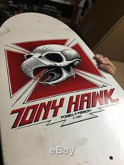 Powell Peralta Tony Hawk Reissue Skateboard Deck New White