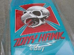 Powell Peralta Tony Hawk Skateboard 30 Blue Skull Bones Brigade 2017, Deck Only