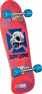 Powell Peralta Tony Hawk Skull Bones Brigade 6 Pink Complete Skateboard
