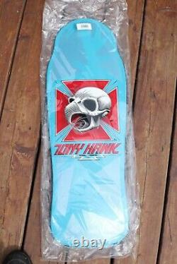 Powell Peralta Tony Hawk blue reissue Skateboard Deck Santa Cruz Sims Alva